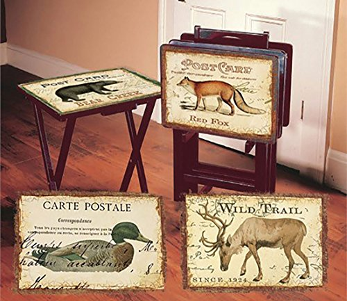 Vintage Tv Trays - 3