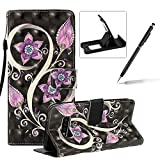 Strap Leather Case for Samsung Galaxy S10 Lite,Wallet Stand Flip Case for Samsung Galaxy S10 Lite,Herzzer Bookstyle Stylish Pretty 3D Peacock Flower Pattern Magnetic PU Leather with Soft Silicone Inner Back Case for Samsung Galaxy S10 Lite