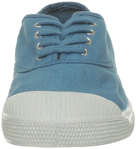 Bleu Lacet Curaçao 531 Tennis femme Bleu mode Baskets Bensimon 6XfqBx