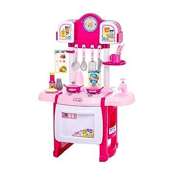 Amazon.com: Juguetes de cocina para niños y niñas, juego de ...