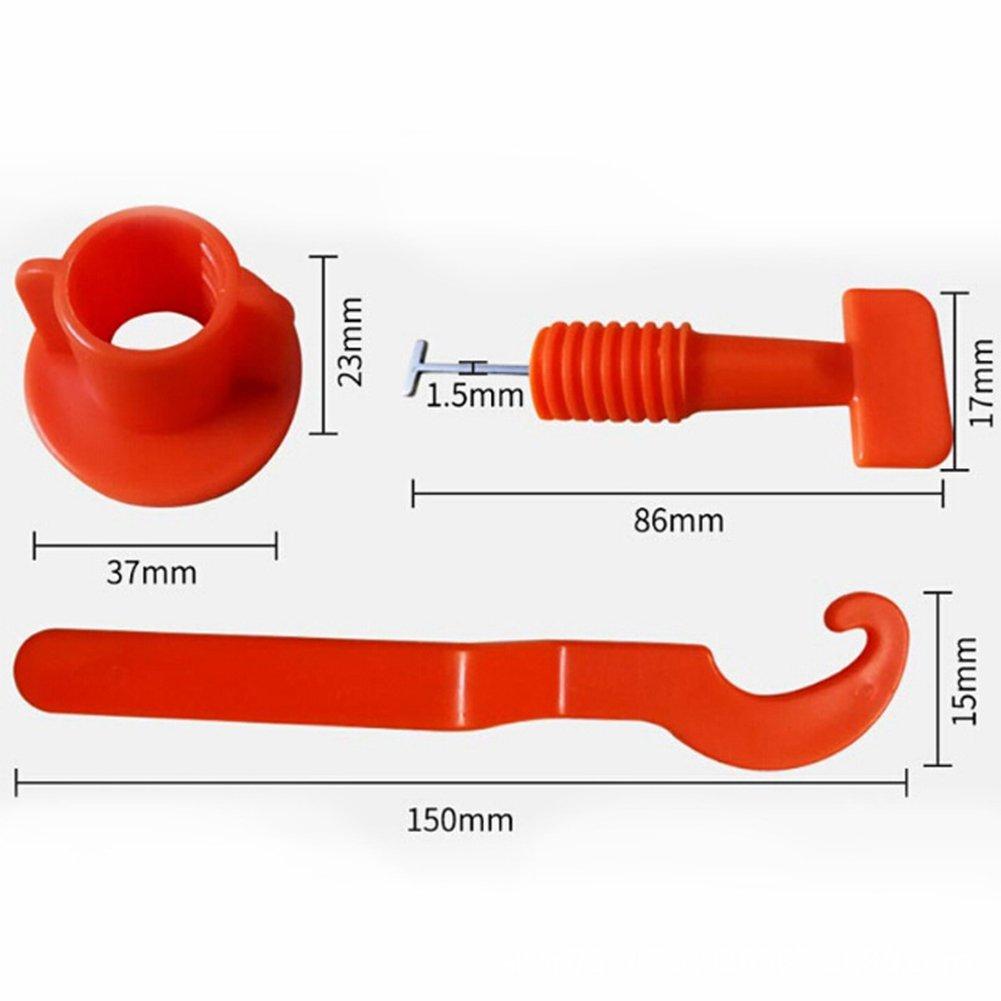 Kunststoff-Clip Abstand halten Zange zum Platzieren ETbotu Bodenbelag-// Wandfliesen-Nivelliersystem