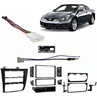 Fits Nissan Altima Coupe 2013 Single/Double DIN Harness Radio Install Dash Kit