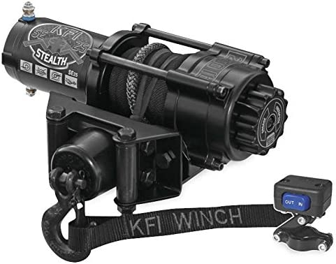 New KFI 2500 lb Stealth Edition Winch /& Model Specific Mounting Bracket PS ATV 2007-2013 Honda TRX420 FPE Rancher 4x4 ES