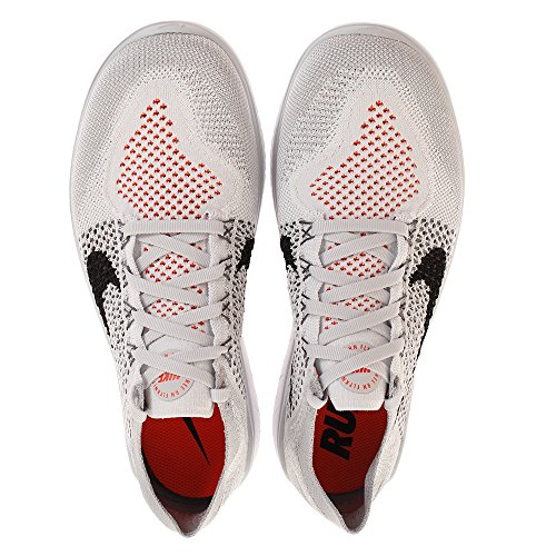 Flyknit Platinum Grey 2018 wolf Herren Nike white Pure Free Black Laufschuh Run fIwanq14R
