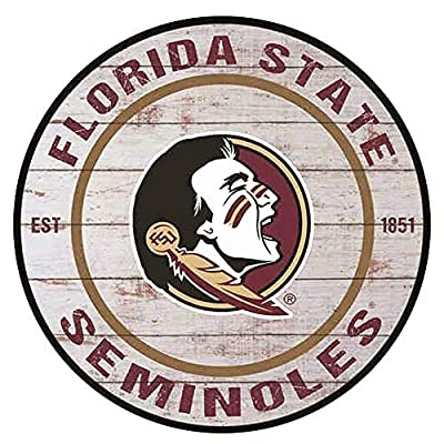 YOMIA Vintage Metal Signs Florida State Seminoles Tin Signs for Man Cave Signs and Decor 12 X12 Inches