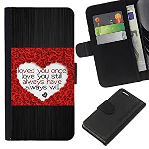 KingStore / Leather Etui en cuir / Apple Iphone 5C / Corazón del amor Rose cepillado de San Valentín del metal