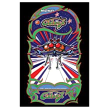 Galaga Video Arcade Game Poster Print 12 X 18 by Arcade
