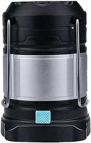 WINDFIRE LED Camping Lantern Tent Light Rechargeable LED Camping Light Water Resistant Portable Collapsible Design with Power Bank,Magnetic Base,Hook,USB Cable,Rechargeable Batteries Included