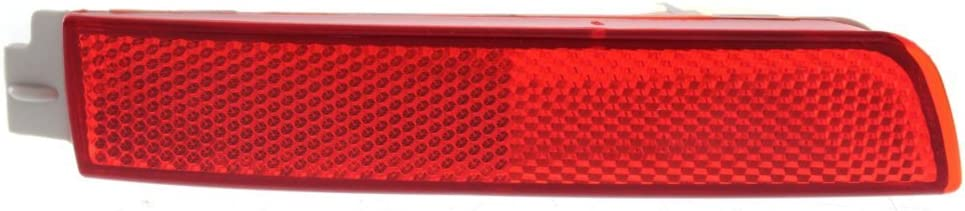 Rear Bumper Reflector for Nissan Murano 09-14 QX70 14-17 Right and Left Side CAPA Certified
