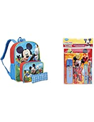 Backpack, Lunch Box, Pouch & Stationery Set