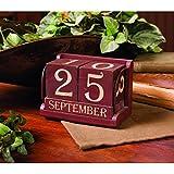 Red Perpetual Calendar