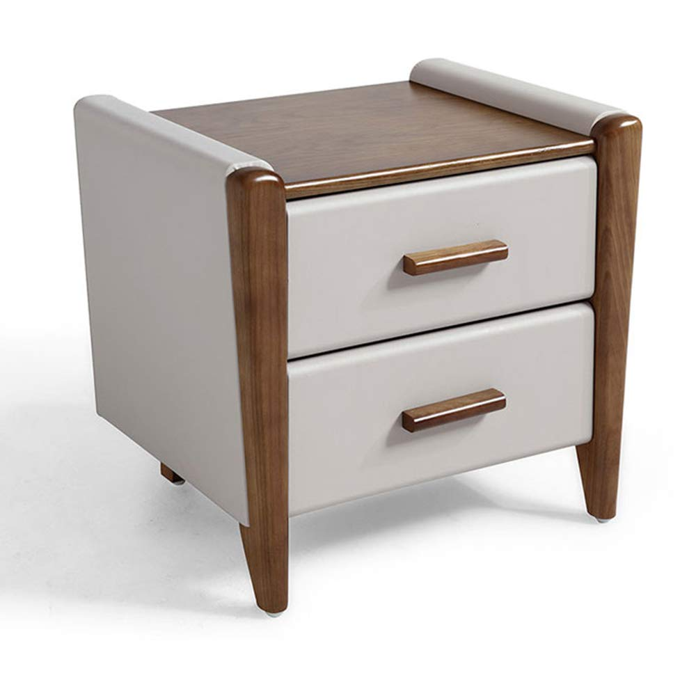LQQGXLBedside Table Bedside Table Leather Small Cabinet Mini Bedside Storage Cabinet Small Side Table by LQQGXL