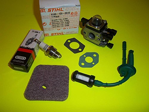 String Trimmer Parts & Accs STIHL FS55 FC55 FS45 FS46 FS55R CARB / TUNEUP KIT CIQ S186A 41401200619 OEM by Parts