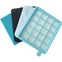 PowerPro Compact Active Washable Filter fit Philips FC8058/01 FC8630-8639 FC8640-8649 FC8470-8479 Replacement Kit