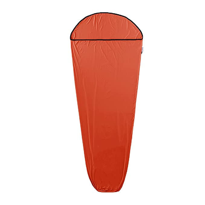 Azarxis Travel Saco de dormir Saco de dormir Saco de sábanas Sistema de sábana de dormir Cocoon Ligero Portátil Elástico Compacto Individual 1 persona ...