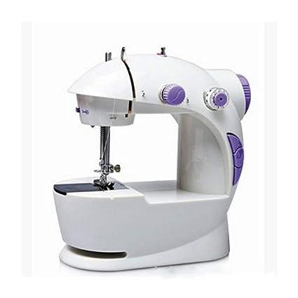 FDBF Set de máquinas de Coser Mini Máquina de Coser de Doble Velocidad y Enchufe de