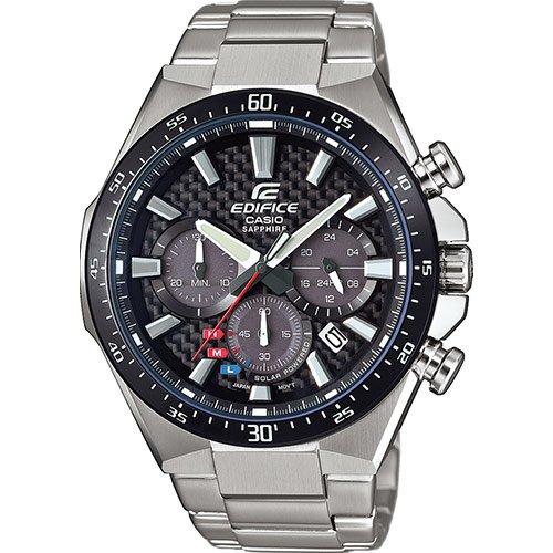 Casio Reloj Analógico para Hombre de Cuarzo con Correa en Acero Inoxidable EFS-S520CDB-1AUEF: Amazon.es: Relojes