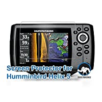 Tuff Protect Clear Screen Protectors for Humminbird Helix 5 Fish Finder Screen