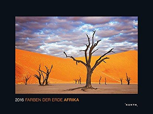 KUNTH Kalender Die Farben der Erde: Afrika 2016 (KUNTH Wandkalender Black Edition)