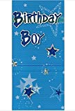 Birthday Boy Money Wallet Gifts Party Blue Celebration for Him Kids Hand Crafted