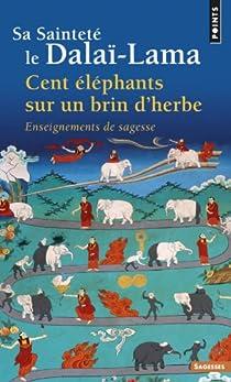 Cent éléphants sur un brin d'herbe par Dalaï-Lama