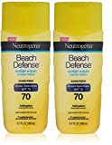 Neutrogena Beach Defense Sunscreen Lotion with Broad Spectrum SPF 70 Protection, 6.7 Ounce (Pack of 2) Review