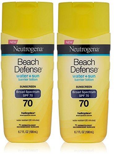 Neutrogena Beach Defense Sunscreen Lotion with Broad Spectru