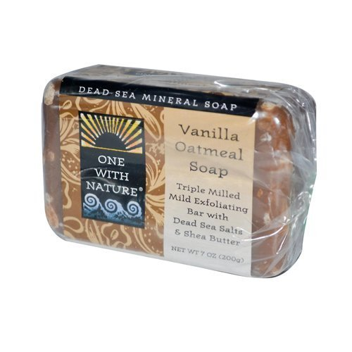 One With Nature Vanilla Oatmeal Soap 200 g by One with Nature Soaps