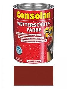 Consolan protección contra la intemperie Color, 2,5 litros, PINTURA