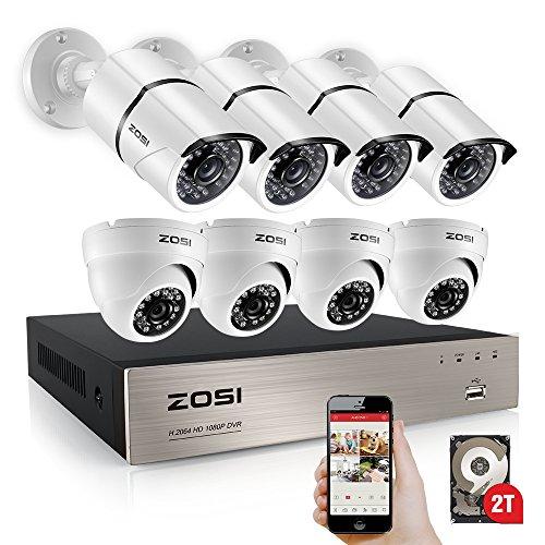 ZOSI 8 Channel Security Outdoor Weatherproof product image