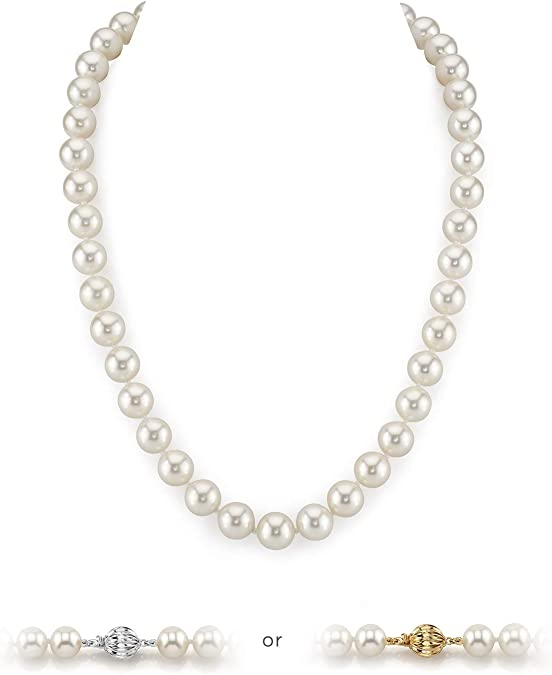 gold filled jewelry natural pearl everyday jewelry Pearl necklace gold pearl necklace mothers day gift biwa pearl necklace