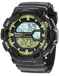 Men's 40/8246LGN Sport Watch with Black Band