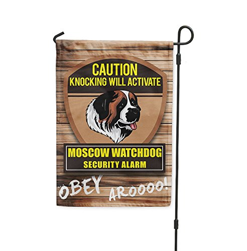 Knocking will activate MOSCOW WATCHDOG DOG Yard Patio House