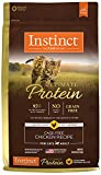 Instinct Ultimate Protein Grain Free Cage Free Chicken Recipe Natural Dry Cat Food by Nature's Variety, 10 lb. Bag