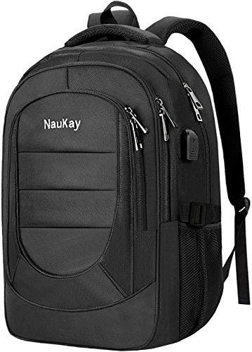 Travel Outdoor Computer Backpack Laptop bag 15.6''(black) - 3