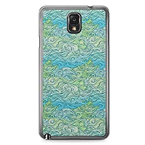 Waves Samsung Note 3 Transparent Edge Case - Design 6