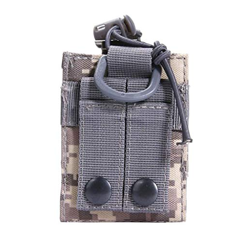 Itlovely Outdoor Package Pouch Tactical Sports Pendant Military Molle Nylon Radio Walkie Talkie Holder Bag Magazine Mag Pouch Pocket