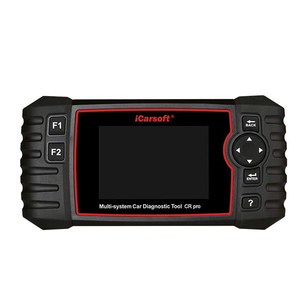 Oil Reset+EPB+BMS+DPF+SAS+ETC+BLD+INJ iCarsoft CR Pro Multi-Systems Diagnostic Scan Tool for Multi-Brand Vehicles