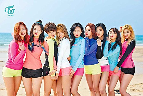 Twice Kpop Korea Girl Group Music Poster O-66160