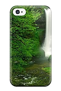 Heimie OLZTgWY18255FgGQs Case Cover Skin For Iphone 4/4s (hidden Waterfall Earth Nature Waterfall)
