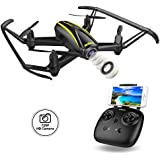 DROCON U31W Navigator FPV Drone for Beginners with 2MP HD WI-FI Camera RC Quadcopter with Altitude Hold and Headless Mode