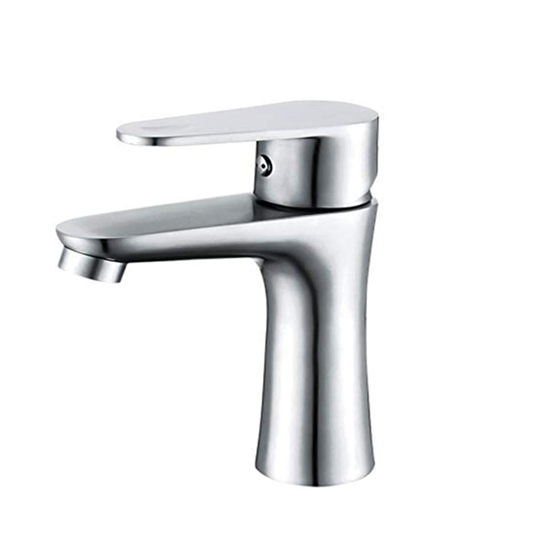 Edelstahlhahn weiße Chrombadhahnbasin_304 Stainless Steel Sink Hot And Cold Bathroom Basin