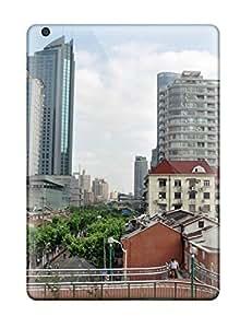 Flexible Tpu Back Case Cover For Ipad Air - Shanghai City