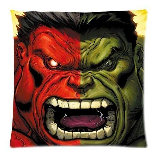 LOOKiigre - Funda de Almohada Personalizada de Hulk Avengers ...