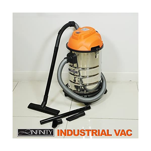 1000W Wet & Dry 30L Vacuum Cleaner with Blowing Function