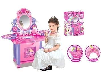 Coiffeuse pour enfant - jouet d\'imitation - nombreux accessoires ...