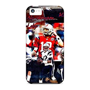 Jenipper Scratch-free Phone Case For Iphone 5c- Retail Packaging - New England Patriots