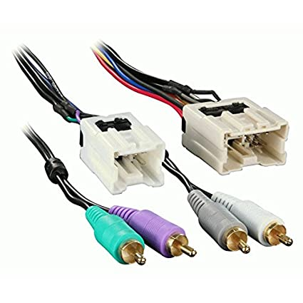 Outstanding Amazon Com Amplifier Integration Wiring Wire Harness For Select Wiring Cloud Pendufoxcilixyz