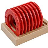 Woodpeckers Precision Woodworking Tools TLRSET-ML Molded Twist lock Ring Set, 8-Piece