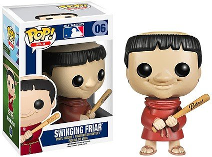 Funko Pop! Major League Baseball: Swinging Friar Vinyl Figure ()